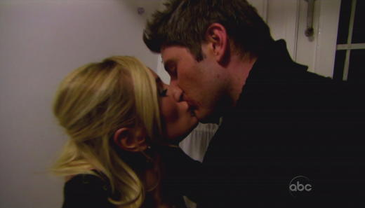 Emily and Arie Kiss