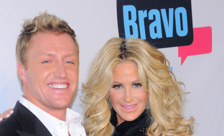 Kim Zolciak and Kroy Biermann at Upfronts