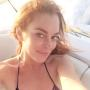Lindsay Lohan Bathing Suit Selfie