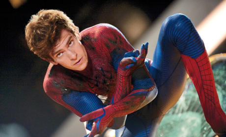 Andrew Garfield as Spiderman