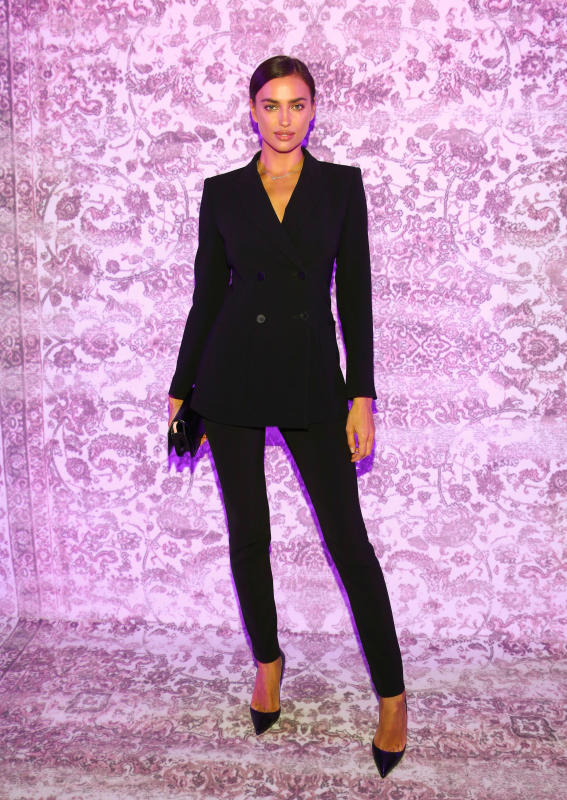 Irina Shayk: Mercedes Benz Fashion Week Berlin
