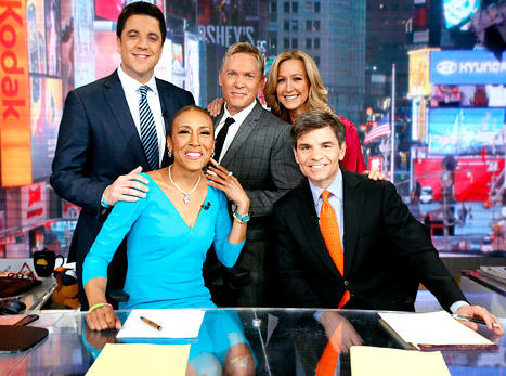 Robin Roberts Return Photo