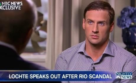 Ryan Lochte on NBC