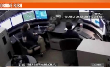 911 Dispatcher Allegedly Points Gun At Reporter