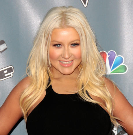 Christina Aguilera Red Carpet Picture