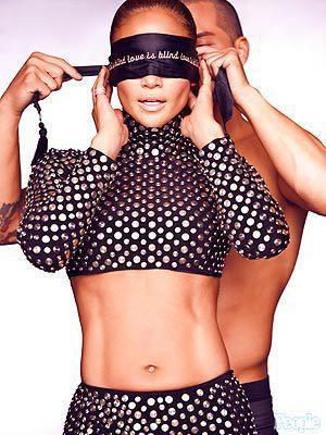 Casper Smart Blindfolds J. Lo