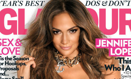 Jennifer Lopez Covers Glamour, Looks HOT