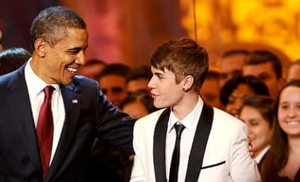 THG Caption Contest Winner: Bieb and the Prez
