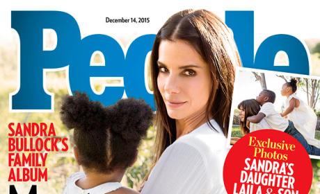 Sandra Bullock, Laila and Louis