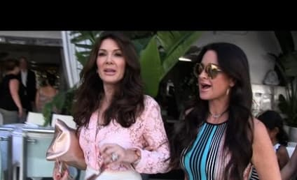 Lisa Vanderpump and Kyle Richards LOL at Brandi Glanville