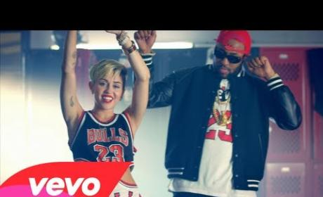 "Miley Cyrus Goes Back to School in ""23"" Music Video"