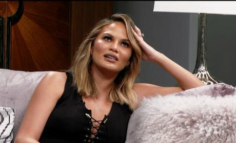Chrissy Teigen on Kocktails With Khloe