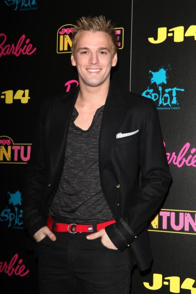 Aaron Carter Red Carpet Pic