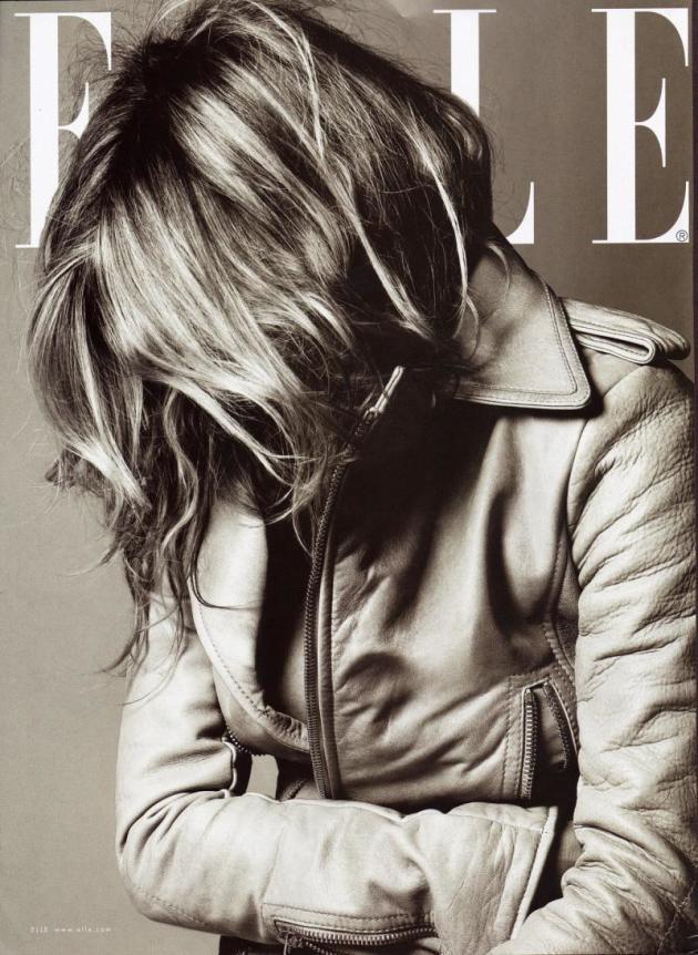 Jennifer Aniston in Elle