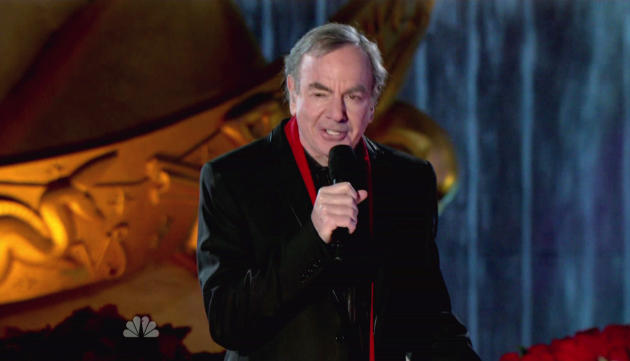 Neil Diamond on Stage
