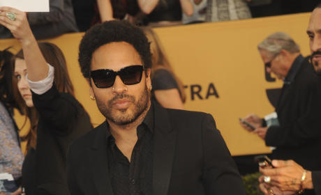 Lenny Kravitz at the SAG Awards