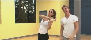 Maria Menounos and Derek Hough Achieve Perfection on Dancing With the Stars
