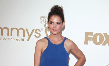 Emmy Awards Fashion Face-Off: Katie Holmes vs. Minka Kelly