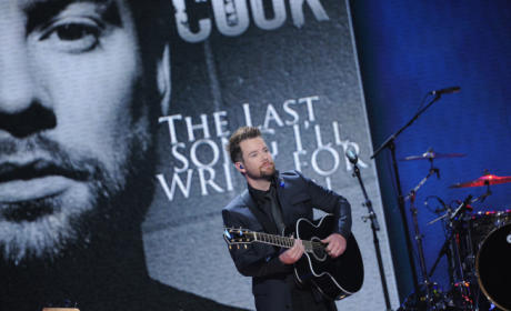 David Cook on American Idol