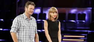 Taylor Swift and Blake Shelton