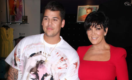 Kris Jenner: Taking Time Off to Focus on Rob Kardashian?