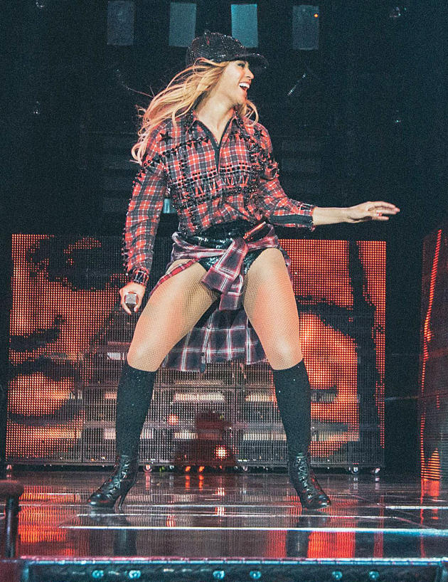 Beyonce in Barcelona