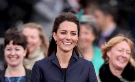 Who looked better in blue, Kate or Pippa Middleton?