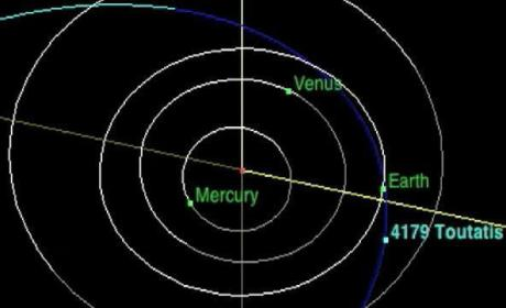 3-Mile Wide Asteroid: En Route to Earth (Kind Of)!
