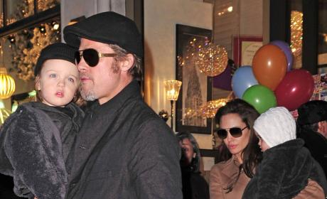 Brad Pitt, Angelina Jolie Celebrate Pax's Birthday