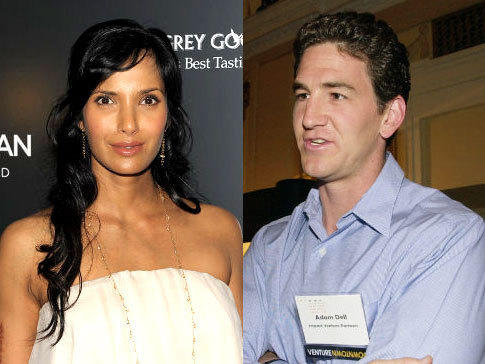 Padma Lakshmi and Adam Dell