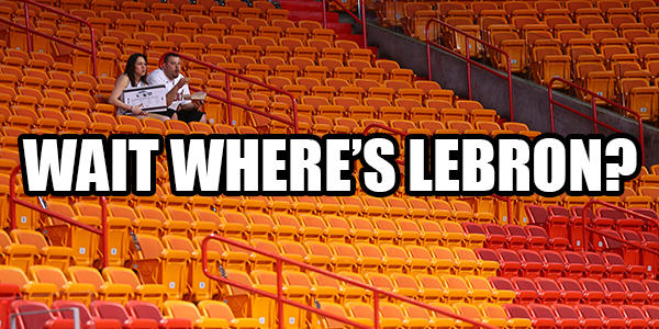 Where's LeBron