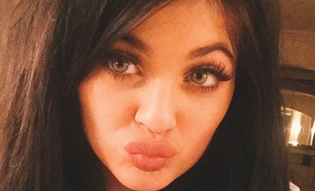 Kylie Jenner: Soaking and Seductive on Instagram