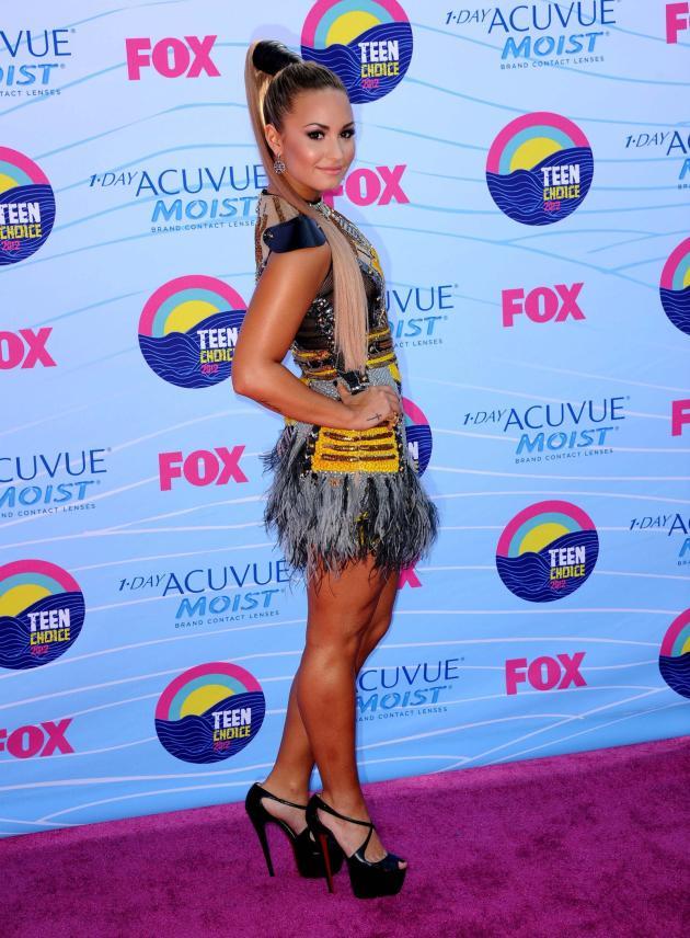 Demi Lovato, Ponytail