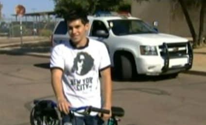 Arizona Cop Gives Bike to Kid Who Walks Nine Miles to Work