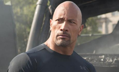 Dwayne Johnson in Fast and Furious