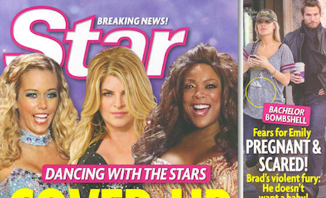 Kirstie Alley: The Dancing With the Stars Cover-Up!