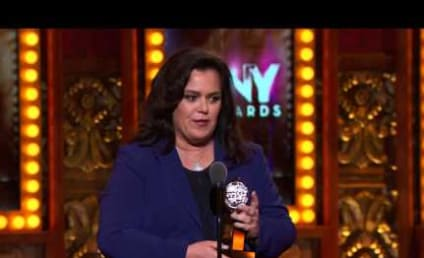 Rosie O'Donnell: 50 Pound Weight Loss Stuns Tony Awards Crowd!