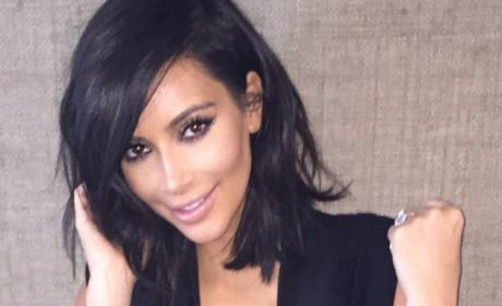 Dad Names Kim Kardashian as Celebrity Crush, Daughter Sets Him Straight