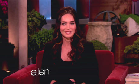 Megan Fox Ellen Interview