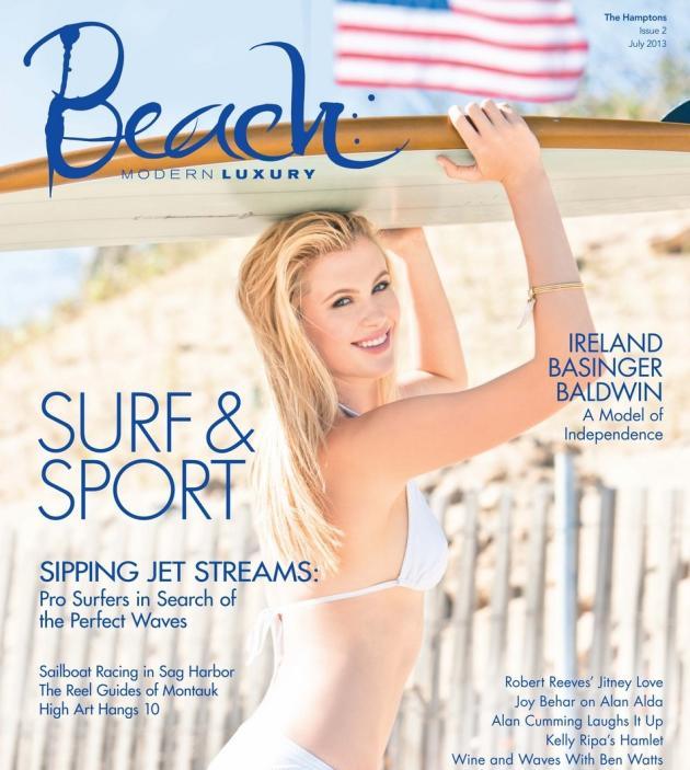 Ireland Baldwin Beach Cover