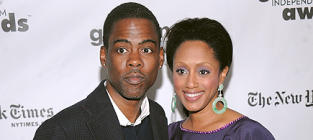 Malaak Compton-Rock, Chris Rock