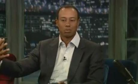 Jimmy Fallon to Tiger Woods: Thank You!!!