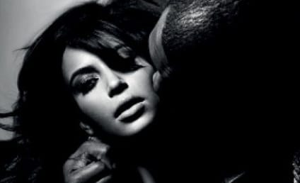 Kanye West Cups Kim Kardashian's Breast in New Magazine Pic