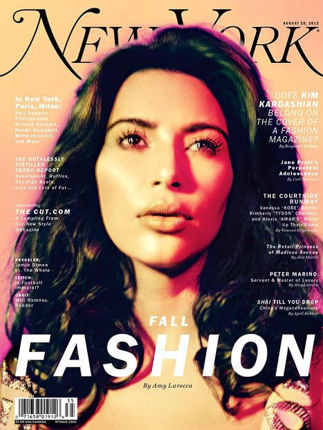 Kim Kardashian New York Cover