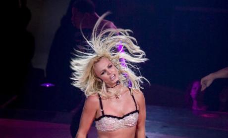 Britney Spears Kisses Jayden James, Shops For Cellphone