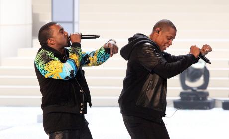 Kanye West and Jay-Z Perform at The 2011 Victoria's Secret Fashion Show