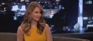 Jennifer Lawrence on Jimmy Kimmel Live: My Breasts are Uneven!