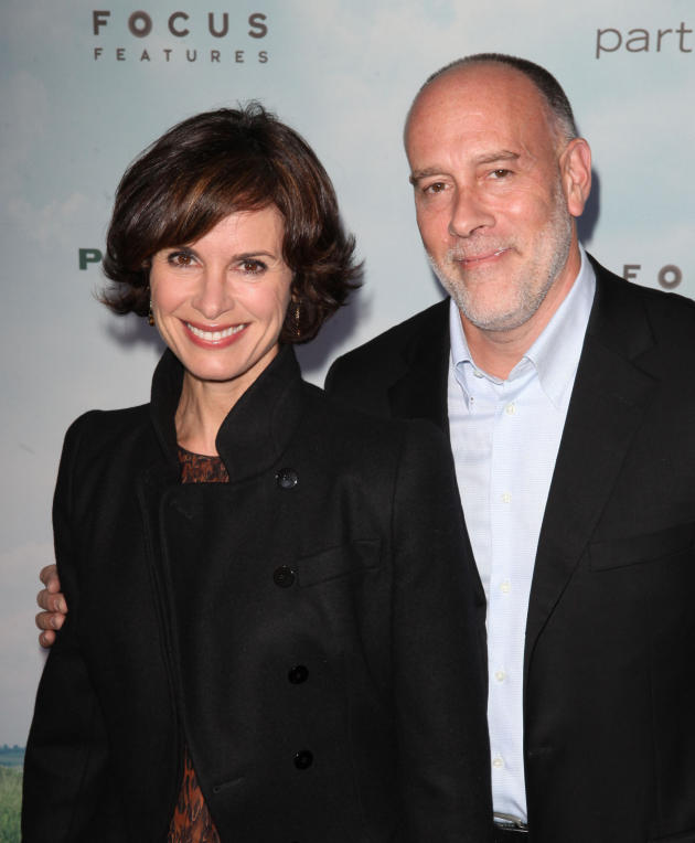 Elizabeth Vargas and Marc Cohn