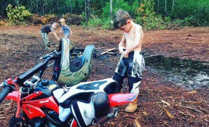 Jenelle Evans Lets Jace Ride Dirt Bikes: Are Her Kids in Danger?!?