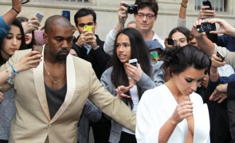 Kim Kardashian: Bored and Miserable on Kimye Honeymoon?!?